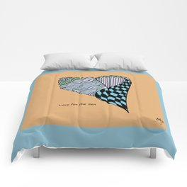 Love for the Sea Comforters