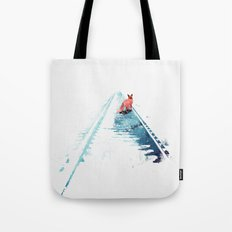 From nowhere to nowhere Tote Bag