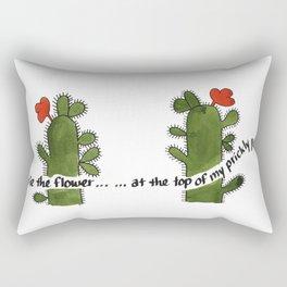 Prickly Pear Days Rectangular Pillow