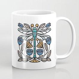Dragonfly tile Coffee Mug