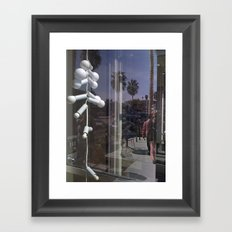 White Light Framed Art Print