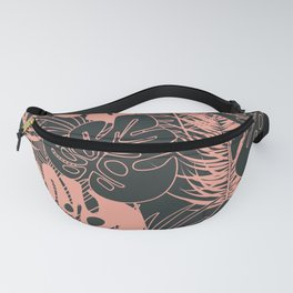 Tropical pattern 034 Fanny Pack