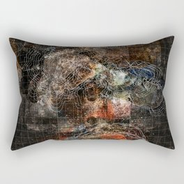Nebula City Rectangular Pillow