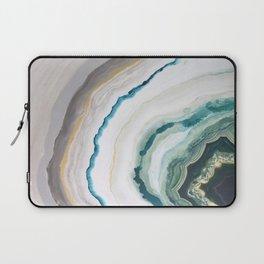 Green Agate #1 Laptop Sleeve