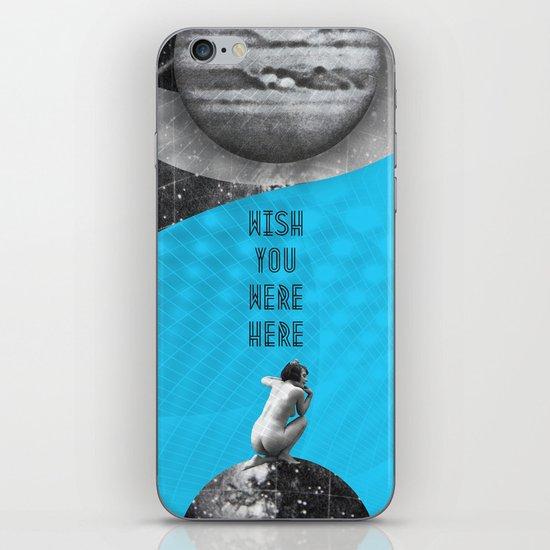 Wish you were here (Rocking Love series) iPhone & iPod Skin