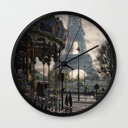 manège parisienne Wall Clock
