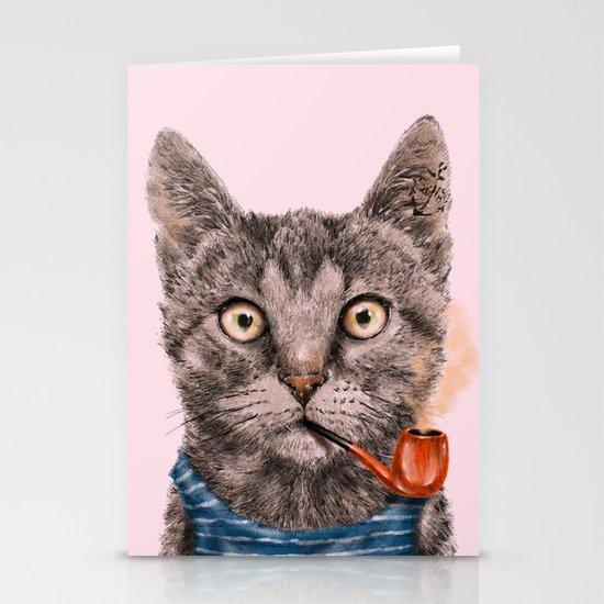 Sailor Cat IX Stationery Cards
