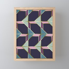 Ultra Deco 3 #society6 #ultraviolet #artdeco Framed Mini Art Print