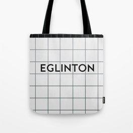 EGLINTON | Subway Station Tote Bag