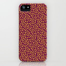 Fried Chicken Ditsy iPhone Case