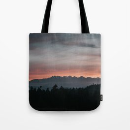Mountainscape - Landscape and Nature Photography Tote Bag