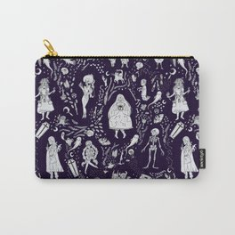 Creatures of the Night (purple) Carry-All Pouch