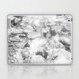 Grayscale Grunge Laptop & iPad Skin