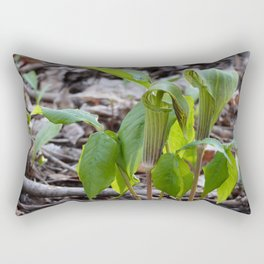 Rumor has it. Rectangular Pillow