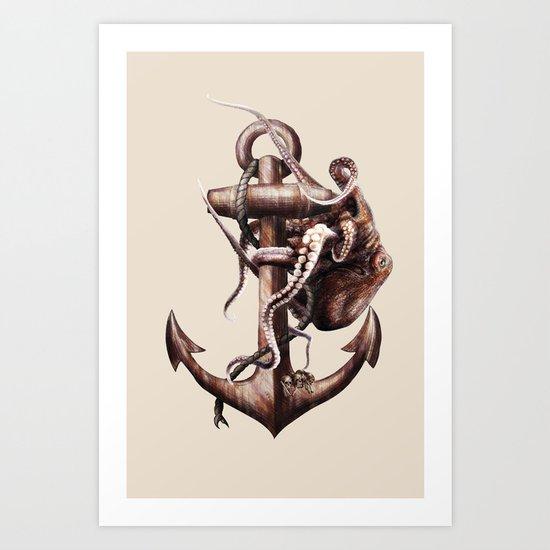 Give Life Back to The Sea I Art Print