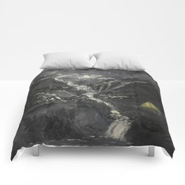Lonely Mountains Comforters