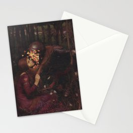 Crawl Into Bed Stationery Cards