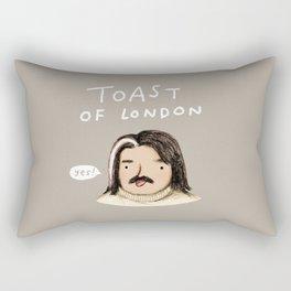 Toast of London Rectangular Pillow