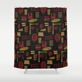 Fonualei Shower Curtain