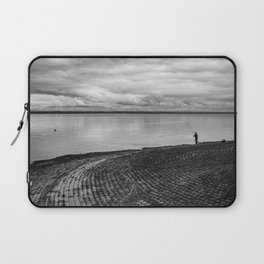 The fishing shadow Laptop Sleeve