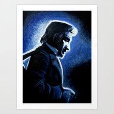 Mr. Cash Art Print