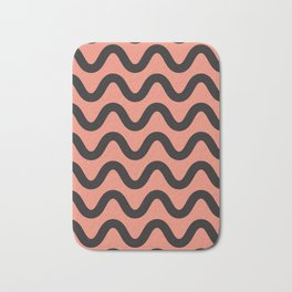 Coral Ripple Bath Mat