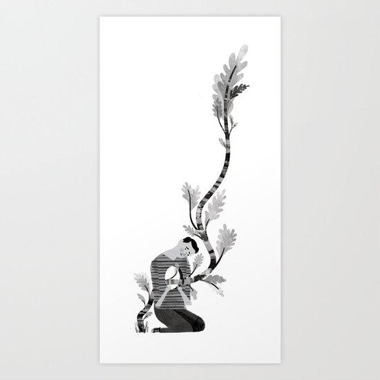 Diagnosis: Human Art Print