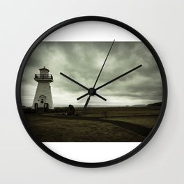 Solitary Lighthouse Wall Clock