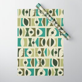 Tromen - Green Wrapping Paper