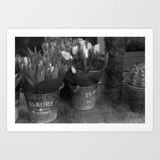 Fleurs & Flowers Art Print