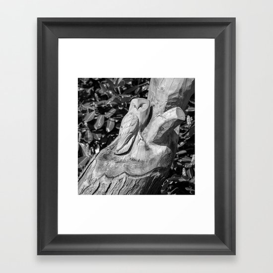 Tree Owl  Framed Art Print