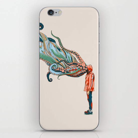 Octopus in me iPhone & iPod Skin