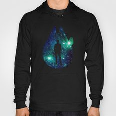 Han Solo and Cosmic Millennium Falcon Hoody