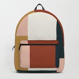 Spring Color Block Backpack