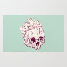 Skull No.2 // The Cristallized One Rug