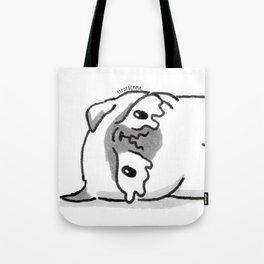 Sad Mochi the pug Tote Bag