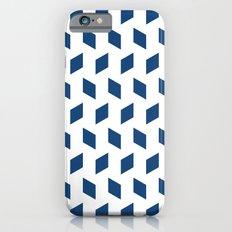 rhombus bomb in monaco blue iPhone 6s Slim Case