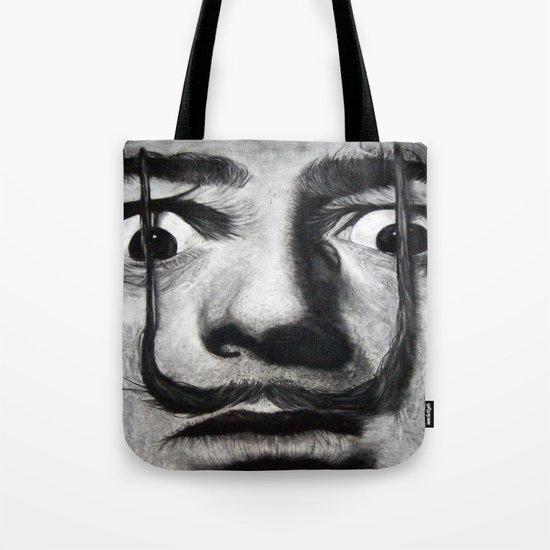 I am drugs ( Salvador Dali ) Tote Bag