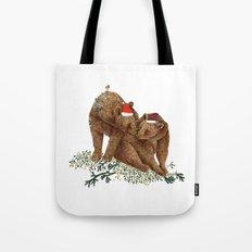 christmas bears Tote Bag