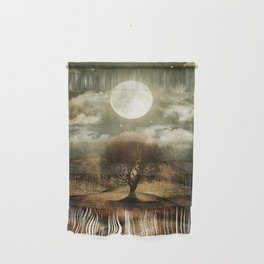 Once upon a time... The lone tree. Wall Hanging