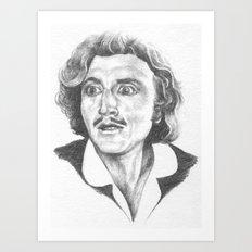 Young Frankenstein by Aaron Bir Art Print