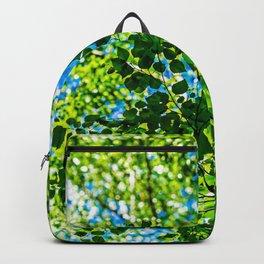Linden Tree Leaves. Summer Shade Backpack