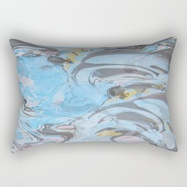 Geometric Flow-Tsolmonchimeg Baasanjargal Rectangular Pillow