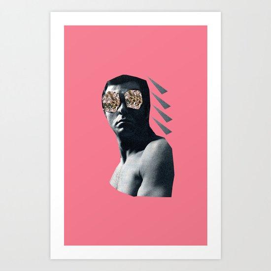 Sparkle Eyes Art Print