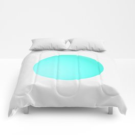 Blue Ball Comforters