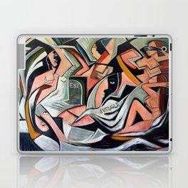 L'amour est Aveugle Laptop & iPad Skin