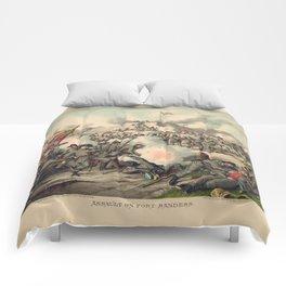 Civil War Assault on Fort Sanders Nov. 29 1863 Comforters