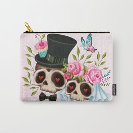 Together Forever - Sugar Skull Bride & Groom Carry-All Pouch