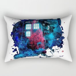 Time And Space Mist Tardis Doctor Who Rectangular Pillow