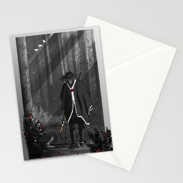 The mystics and almighty: Hunter Stationery Cards